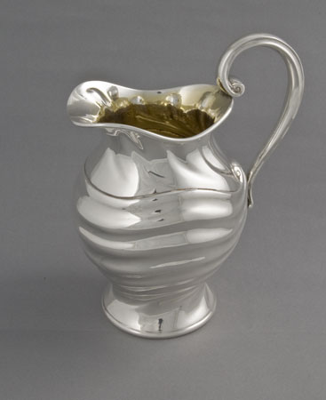 Silver jug by Norton and White